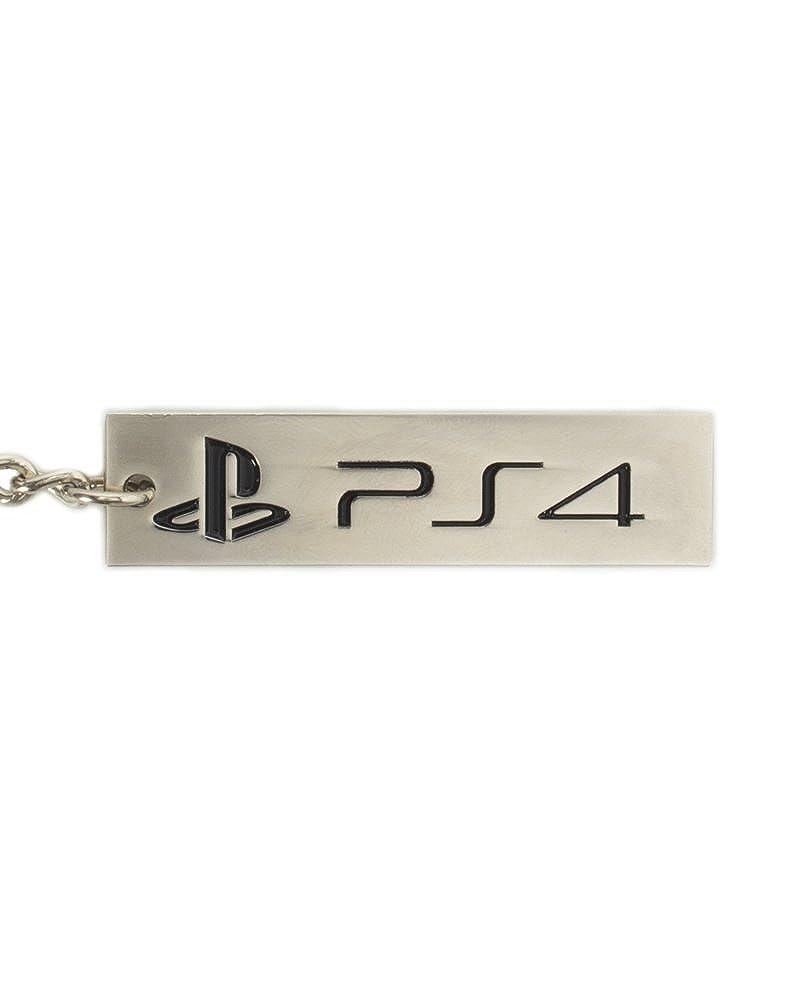 Amazon.com: Llavero oficial de Playstation con logo de 4 PS4 ...