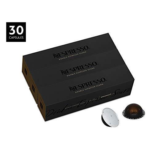 Nespresso VertuoLine Double Espresso Scuro, Dark, 30 Count