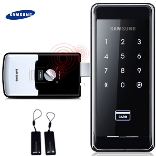 2pcs of Key Tags + SAMSUNG SHS-2920 digital door lock keyless touchpad security EZON