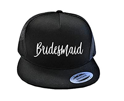 Bridesmaid Hat, Bridesmaid Snapback, Bridesmaid Trucker Hat, Cute Bridesmaid Hats, Bachelorette Hats, Bachelorette Snapback,