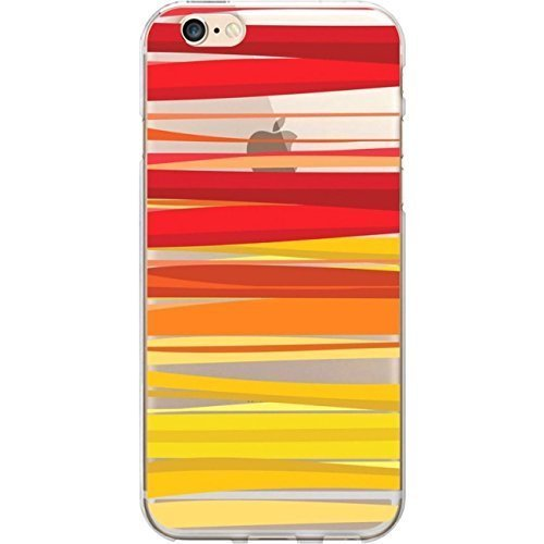Centon Electronics Cell Phone Case for iPhone 6 - Retail Packaging - Sun Ray (Ray Stripe)