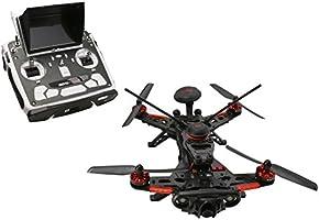Walkera 250 Advance GPS4 Dron de Carreras Version 4 FPV con DEVO F12E, GPS, 1080P Cámara, OSD, color negro