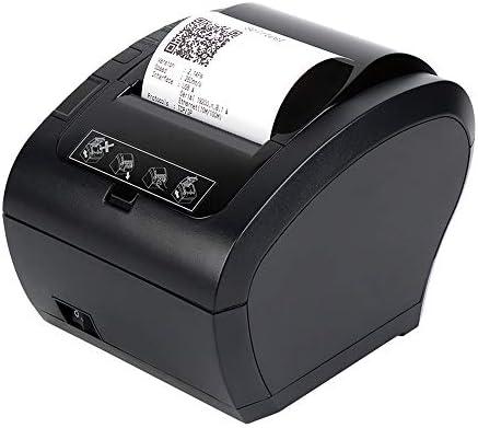 MUNBYN Impresora de Ticket Térmica USB, Impresora de Recibos 80mm ...