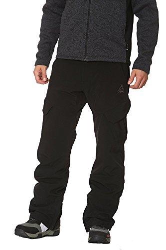 Gerry Mens Ski Pant 4-Way Stretch Black