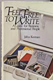 Feel Free to Write, John Keenan, 0471096962