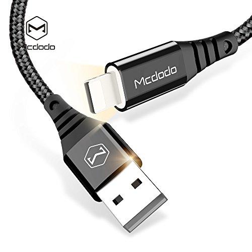 iPhone LED Lightning Nylon Braided Sync Charge USB Data 4FT/