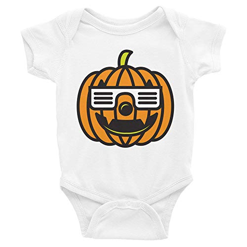 Cool Pumpkin Baby'S First Halloween Infant Jumper | Cute Funny Costume Baby Bodysuit | New Mom Or Dad Gift (New Born)