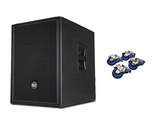 RCF SUB905-AS MKII + Casters 4-Pack by RCF