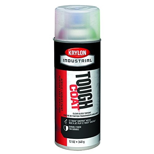 (Spray Paint Clear Gloss Top Coat Tc 12 oz Pack of 12)