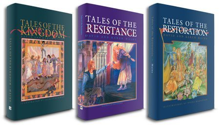 Kingdom Tales Trilogy (Tales of the Kingdom, Tales of the Resistance and Tales of the Restoration), SET of 3