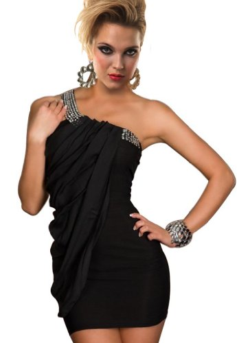 Intimates21 Women's Sloping Shoulder Clubwear Dress