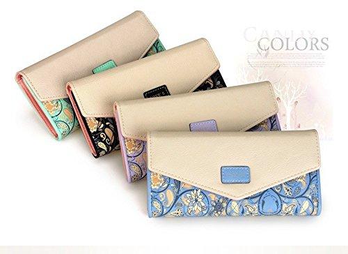 Long Clutch Phone Famous Designer Lady Female Wallet Women Luxury Brand Purse Carteras Portomonee Walet Money Bag Cuzdan Vallet - Famous Designer Women