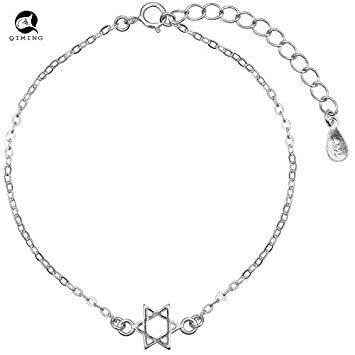 Amazon Com Sweet S925 Silver Bracelet Hollow Female Sleek Brushed