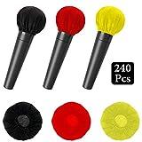 EBaokuup 240Pcs Disposable Microphone Cover