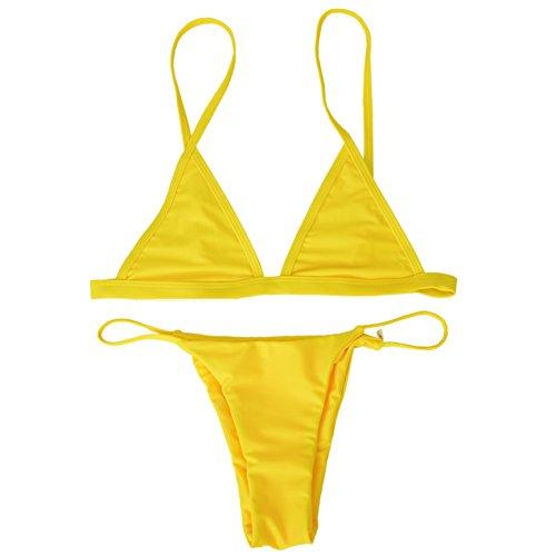 yellow bikini top - 8