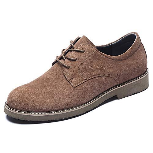 5 UK 8 comodi US uomo per uomo casual Scarpe Brown Colore Brown da in da LXLA stringate pelle 9 5 nbsp;Mocassini uomo dimensioni scamosciata qPBwRH1x