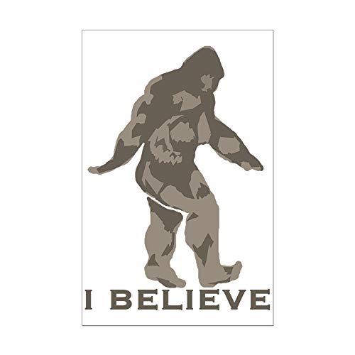 (CafePress I Believe in The Bigfoot Mini Poster)