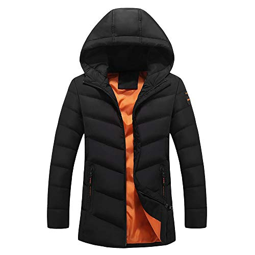 À Plein Unie Outwear Liquidation En Manteau lin Hiver Couleur Capuche Chaud Vêtements Coton Noir Day Air Hommes Doudoune Grande Taille Mode Épaissie Casual 4PqzqTRw