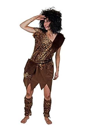 Festartikel Muller Damen Kostum Steinzeitmensch Neandertaler