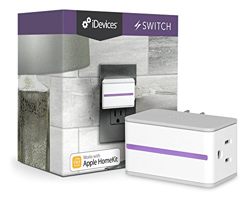 iDevices Switch - WiFi Smart Plug Works with Apple HomeKit, Android and...