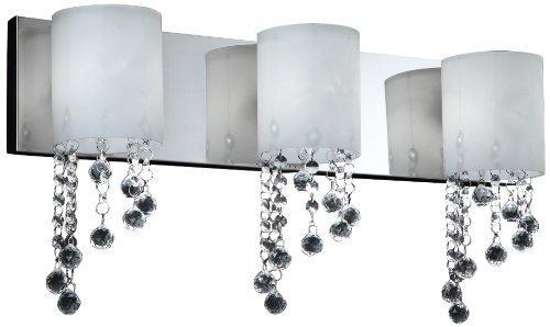 Z-Lite 871CH-3V Jewel Three Light Vanity by Z-Lite