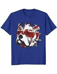 English Bulldog Union Jack Shirt : Funny Pet Owner Art