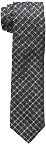 Haggar Mens Big Tall Grid Necktie
