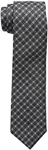 Haggar Men's Big-Tall Grid Necktie - Extra Long