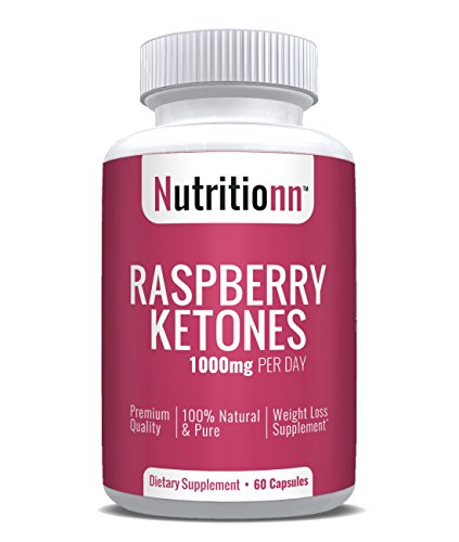 Raspberry Ketones by Nutritionn - Premium Weight Loss Supplement - 60 Capsules