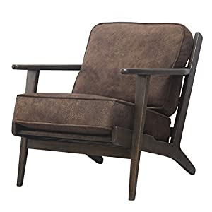 New Pacific Direct Albert Accent Chairs, Brown