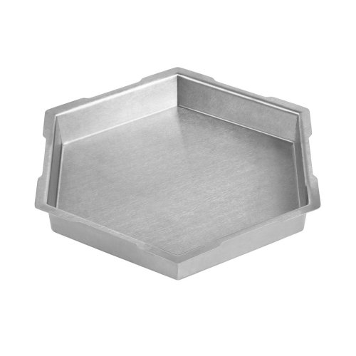 Rosseto SM123 16-Inch Stainless Steel Hexagon Ice Bath Riser, Medium by Rosseto