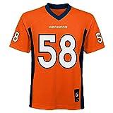 Von Miller Denver Broncos NFL Kids Orange Home Mid-Tier Jersey (Kids 4)