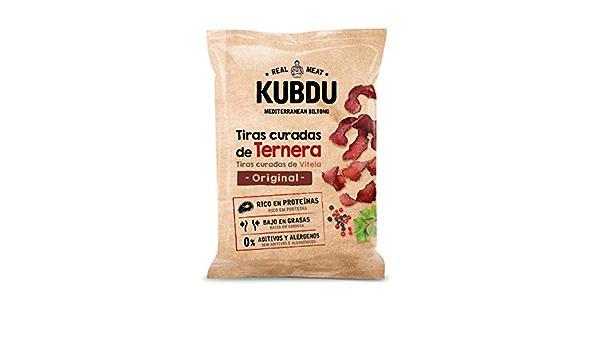 Kubdu KUBDU Mediterranean Biltong Tiras Curadas de Ternera ...