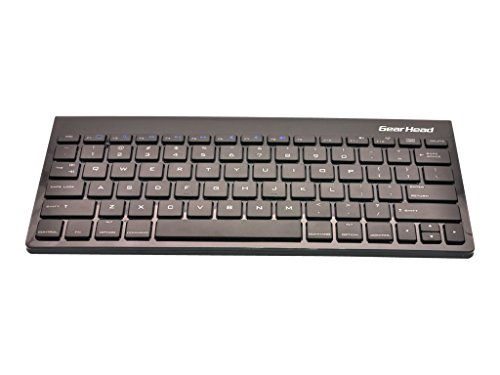 Gear Head Wireless Bluetooth Keyboard for iPad 2