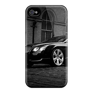 lintao diy Awesome Bentley Continental Flip Case With Fashion Design For Iphone 4/4s Kimberly Kurzendoerfer