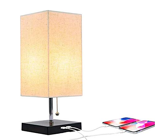 Amazon.com: Moderna lámpara de escritorio con puerto de ...