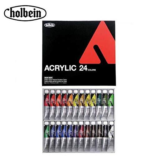 ホルベイン アクリリックカラー ヘビーボディ 20ml AU995 24色セット 16995   B07PZ2K6RZ