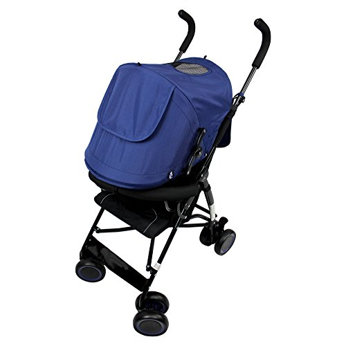 5 Point Harness Reclining Umbrella Stroller - 1