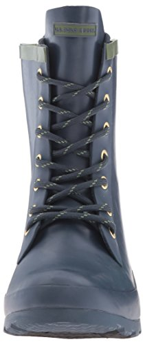 Olive U Women's Women's S Assn Jacky Polo Boot Rain Navy qH7qBTg