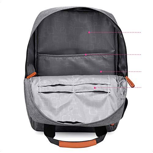 Qinjli 16 Bag Sport Moda Tracolla Colorata A Borsa 42cm Studente Tela Zaino Computer 29 7Sr71q