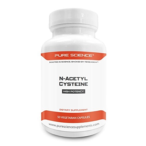 Pure Science N Acetyl Cysteine 700mg product image