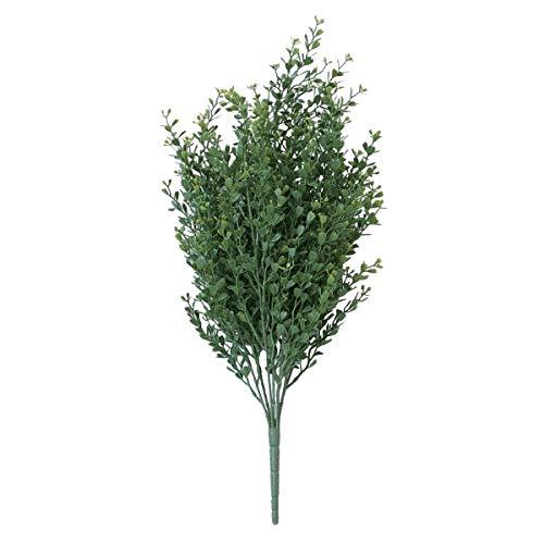 人工観葉植物 ボックスウッドブッシュ(12個セット) ba690 (代引き不可) インテリアグリーン 造花 BUSH B07SXGQNFN