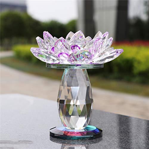 Buy purple crystal lotus flower