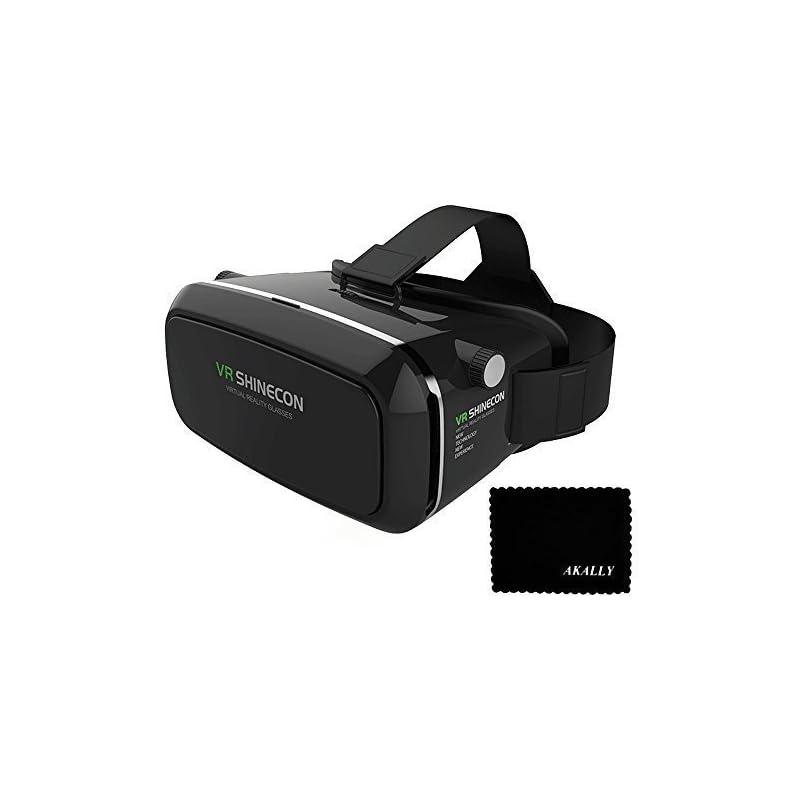 Akally 3D VR Headset Glasses Virtual Rea