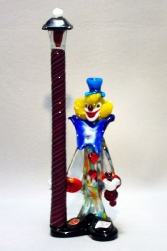 belco-fp-1600-murano-glass-clown-with-lamp-post