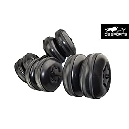 CB Sports 2017 NEW Deluxe, Travel Dumbbells – Heavy We...