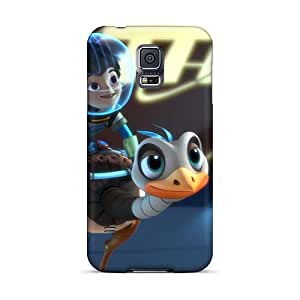 Shock Absorbent Hard Cell-phone Case For Samsung Galaxy S5 With Support Your Personal Customized Beautiful Mr Peabody Sherman Image LauraAdamicska