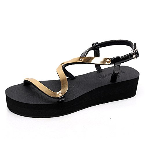 Golden Slippery Student Sandals Casual Shoes Fashion Women's Summer Shoes wqRP8vAqZ