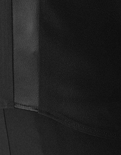RENÉ LEZARD Damen Kleid Viskose Dress Unifarben, Größe: 36, Farbe: Grau