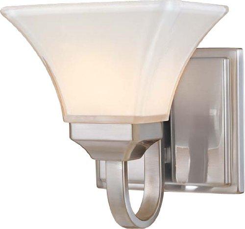 Minka Lavery 6811-84 Agilis 1 Light Bath Bar, Brushed Nickel Finish